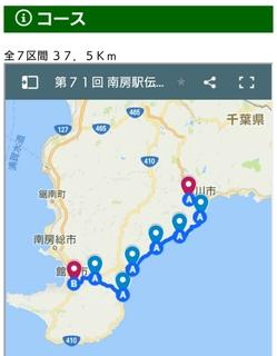 【南房駅伝6区試走6kmjog】